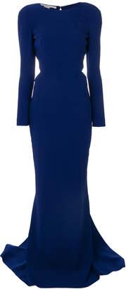 Stella McCartney cutout crepe gown