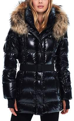 SAM. Millennium Fur Trim Down Coat
