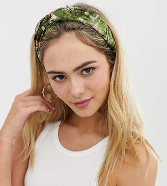 South Beach Exclusive safari animal print elasticated headband