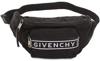 Givenchy Logo Printed Nylon Belt Pack