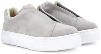 Eytys Doja suede slip-on sneakers