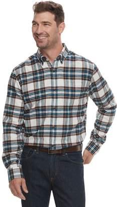 Croft & Barrow Men's Slim-Fit Flannel Button-Down Shirt