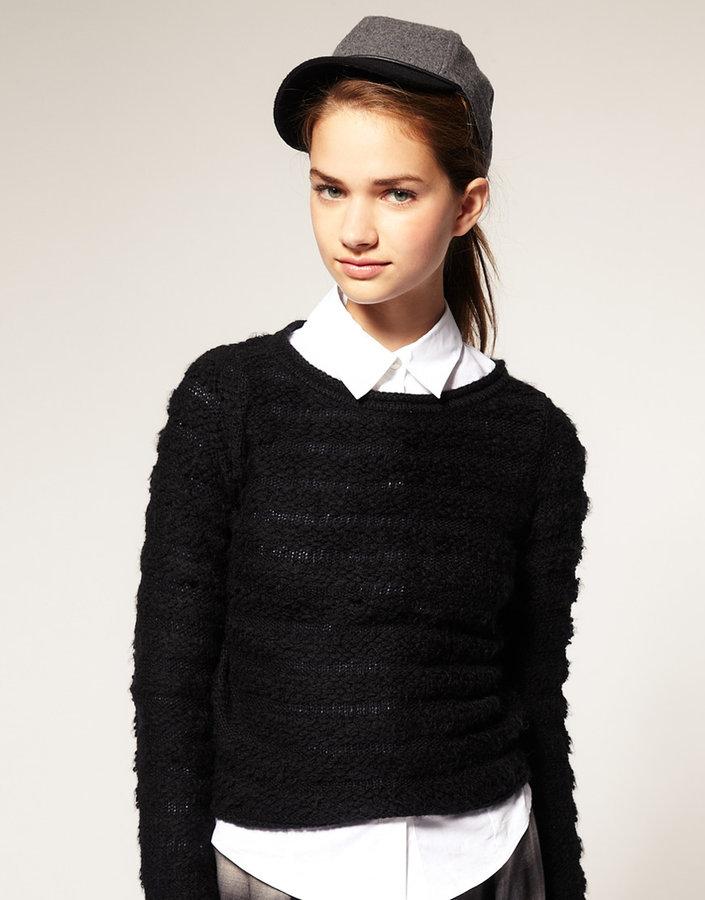 ASOS Wool Color Block Cap