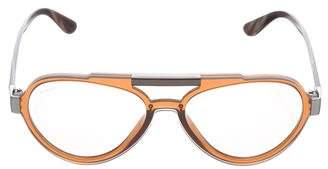 Prada Aviator Logo Sunglasses