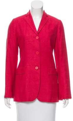 Kiton Tweed Cashmere-Blend Blazer