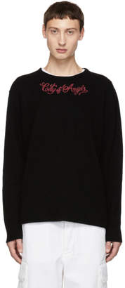 Adaptation Black Cashmere C.O.A. Crewneck Sweater