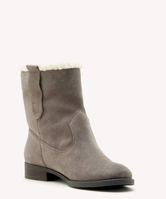Sole Society Verona Faux Shearling Ankle Bootie