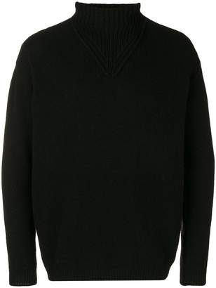 Daniele Alessandrini roll-neck fitted sweater