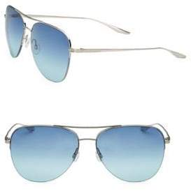Barton Perreira Men's 10-Year Anniversary Chevalier 62MM Gradient Aviator Sunglasses - Sea Splash