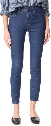 A.P.C. Super Skinny Jeans $245 thestylecure.com