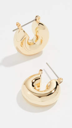 Luv Aj Mini Donut Hoop Earrings