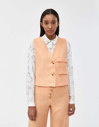 Paloma Wool Sabina Linen Vest