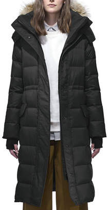 Canada Goose Lunenberg Long Parka w/ Fur Trim & Removable Hood