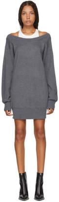 Alexander Wang Grey Inner Tank Knit Dress