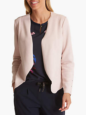Faux Suede Jacket, Shadow Rose
