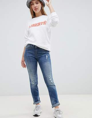 Blend She Lala Distressed Skinny Jeans