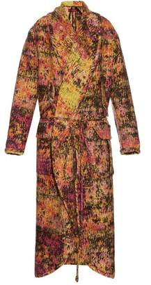 Sies Marjan - Tie Waist Blanket Coat - Womens - Multi