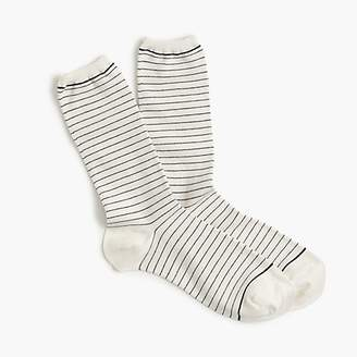 J.Crew Striped heather trouser socks
