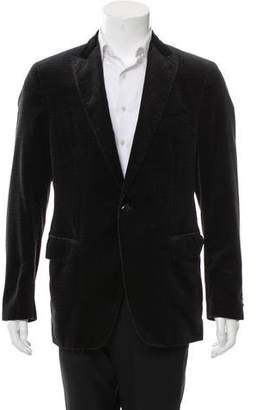 Etro Velour Single-Button Blazer