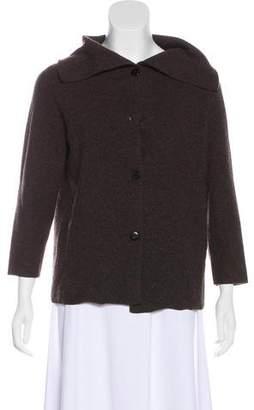 TSE Button-Up Cashmere Cardigan
