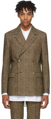 Tiger of Sweden Tan Houndstooth Valmo Blazer