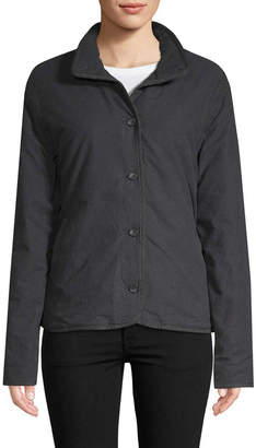 James Perse Button-Front Jacket