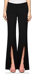 A.L.C. Women's Capen Stretch-Crepe Flared Trousers - Black