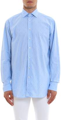 Etro Classic Micro Embroidered Tailored Shirt