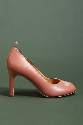 Bill Blass Ilana Open-Toe Heels