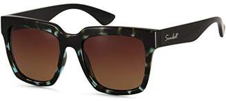 Sunbelt Women's Bella Polarized Square Sunglasses