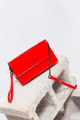 KENDALL + KYLIE Kendall & Kylie Patent Faux Leather Crossbody