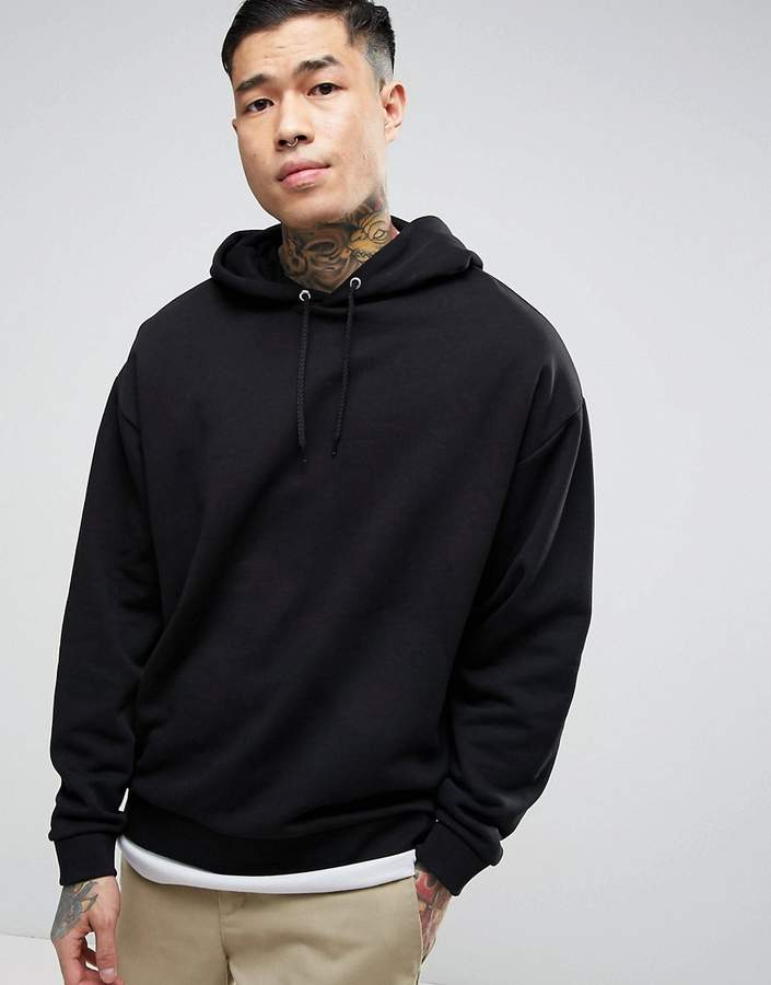 ASOS Oversized Hoodie With Back Print 4