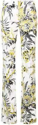 Diane von Furstenberg floral trousers