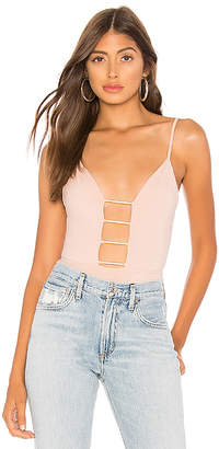 by the way. Monet Cut Out Plunge bodysuit