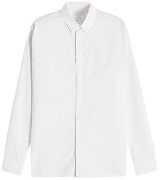 Jil Sander Pinstriped Cotton Shirt