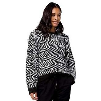 Volcom Junior's Women's Dolhearted Crewneck Sweater