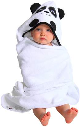 """Couture Extra Large 40""""x30"""" Absorbent Hooded Towel, Panda, Frenchie Mini"""