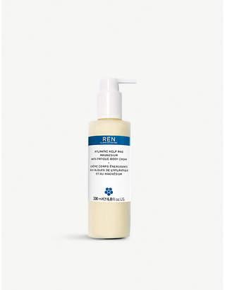 REN Atlantic Kelp and Magnesium Anti-fatigue Body Cream 200ml