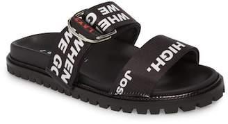 Joshua Sanders Go High Flat Sandal