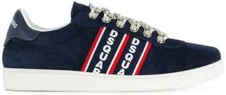 DSQUARED2 Barney logo stripe sneakers