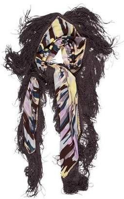 Missoni Multicolor Silk Scarf