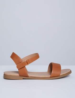 Two-Strap Flat Sandal