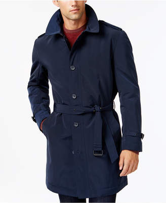 Kenneth Cole New York Slim-Fit Reino Water Repellent Raincoat $395 thestylecure.com