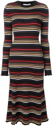 Sonia Rykiel striped midi dress