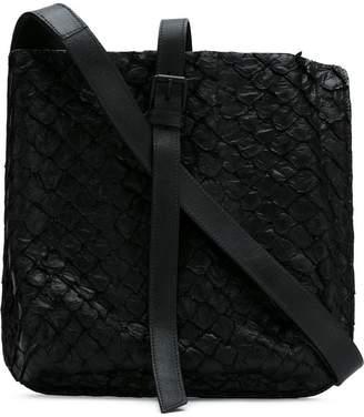 OSKLEN Pirarucu leather crossbody bag