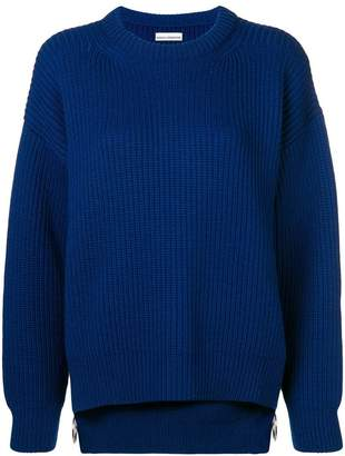 Paco Rabanne ribbed long-sleeve sweater
