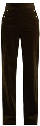 Vanessa Bruno Hadrian wide-leg stretch-cotton corduroy trousers