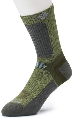 Columbia Men's Merino Wool-Blend Crop Crew Hiking Socks