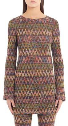 Missoni Chevron Knit Minidress