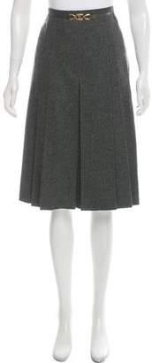 Celine Vintage Wool Skirt